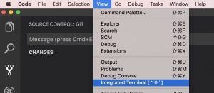 Publishing a new repository to GitHub from VS code – losol io